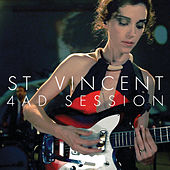 Play & Download 4AD Session by St. Vincent | Napster