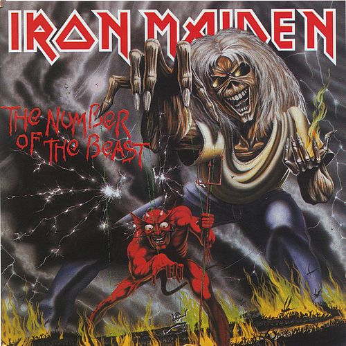 The Number Of The Beast von Iron Maiden