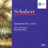 Schubert : Symphonies 2 & 4 de Riccardo Muti
