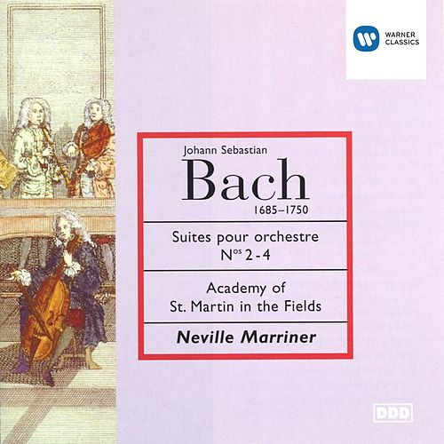 Bach: Suites Nos 2-4 de Academy Of St. Martin-In-The-Fields (1)