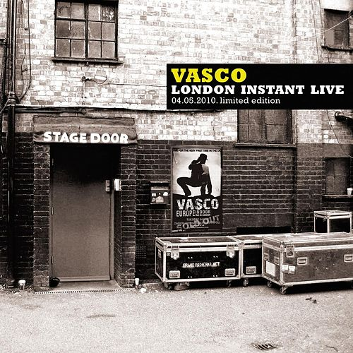 Play & Download Vasco London Instant Live by Vasco Rossi | Napster