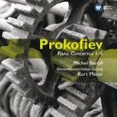 Prokofiev: Paino Concertos by Michel Beroff