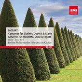 Mozart: Concertos for Clarinet, Oboe & Bassoon - Konzerte für Klarinette, Oboe & Fagott by Berliner Philharmoniker