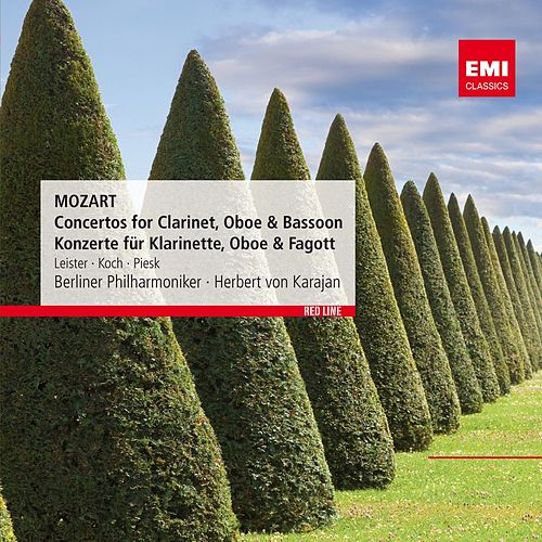 Play & Download Mozart: Concertos for Clarinet, Oboe & Bassoon - Konzerte für Klarinette, Oboe & Fagott by Berliner Philharmoniker | Napster