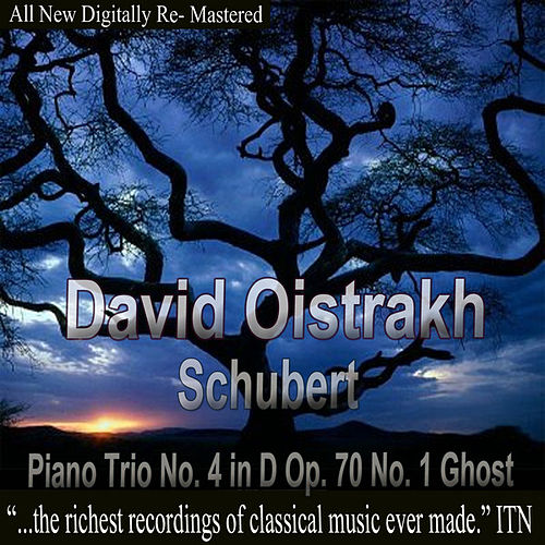 Play & Download David Oistrakh - Schubert Piano Trio No. 4 in D Op. 70 No. 1 Ghost by David Oistrakh | Napster
