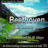 Play & Download Beethoven - Oistrakh, Knushevitsky, Oborin - Triple Concerto in C Op. 56, Allegro by David Oistrakh | Napster