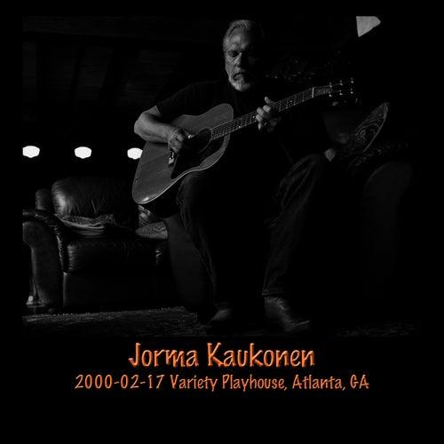 Play & Download 2000-02-17 Variety Playhouse, Atlanta, GA (Live) by Jorma Kaukonen | Napster