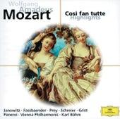 Mozart: Cosi fan tutte (Highlights) von Various Artists