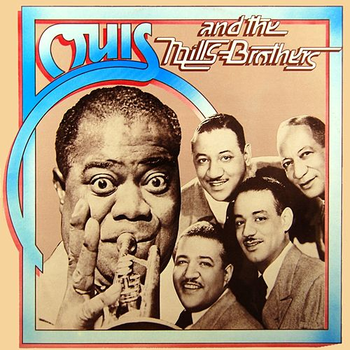 Louis And The Mills Brothers by Lionel Hampton