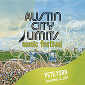Live At Austin City Limits Music Festival 2007: Pete Yorn by Pete Yorn