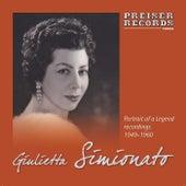 Play & Download Giulietta Simionato - Portrait of a Legend by Giulietta Simionato | Napster