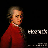 Mozart's Four Horn Concertos by Vienna State Opera Orchestra