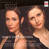 Mozart & Rachmaninow: Works for two pianos, piano duet and six handed piano by Various Artists