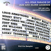 Play & Download All Star Parade of Jazz and Blues Legends on LRC Ltd. / Groove Merchant - Full Cut Sampler, Vol. 2 by Various Artists | Napster