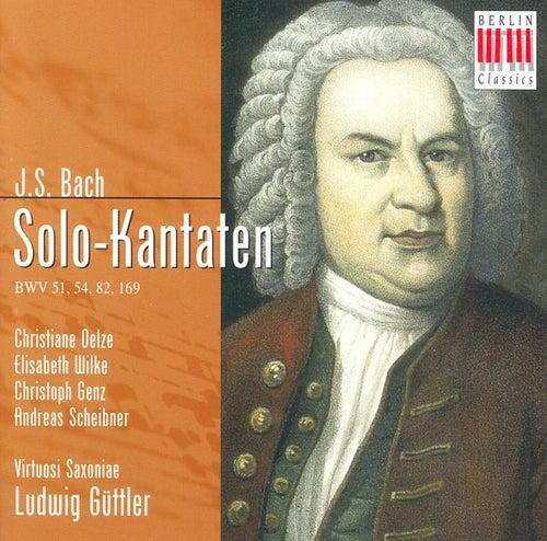 BACH:  'Gott soll allein mein Herze haben' BWV  169 - 'Widerstehe doch der Sünde' BWV 54 - 'Ich habe genug' BWV 82 & 'Jauchzet Gott in allen Landen' BWV 51 by Various Artists