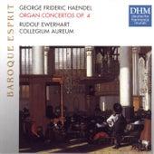 Händel: Organ Concertos Op. 4 by Collegium Aureum