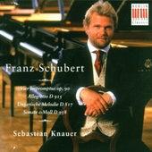 Schubert: 4 Impromptus Op. 90, Allegretto D. 915, Ungarische Melodie D. 817 & Sonata D. 958 by Sebastian Knauer