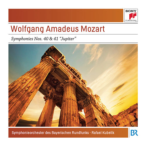 Mozart: Symphony No. 40 and Symphony No. 41 'Jupiter' - Sony Classical Masters by Bavarian Radio Symphony Orchestra