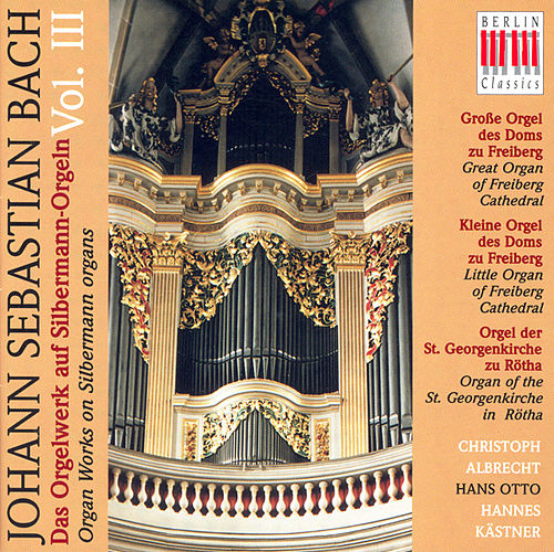 Bach: Organ Music on Silbermann Organs, Vol. 3 - BWV BWV 582, 651-668, 727, 730, 733, 734, 735, 736, 737, 768, 769 by Various Artists