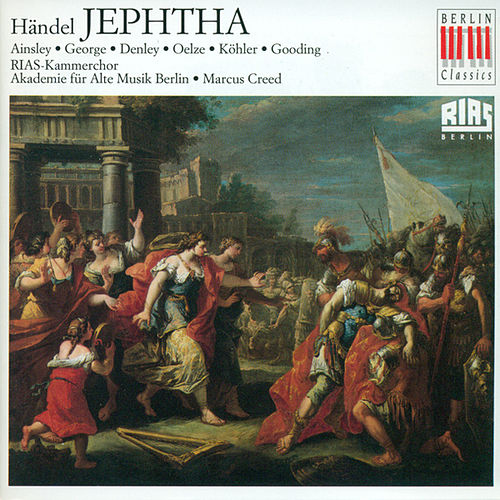 HANDEL, G.F.: Jephtha [Oratorio] (Ainsley) by Various Artists