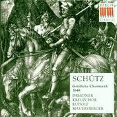 Heinrich Schütz: Geistliche Chormusik, Op. 11 (Dresden Kreuzchor, Mauersberger) by Dresdner Kreuzchor