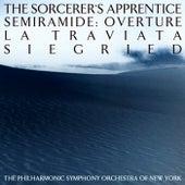 The Sorcerers's Apprentice / Semiramide: Overture / La Traviata / Siegfried / Semiramide: Overture by New York Philharmonic