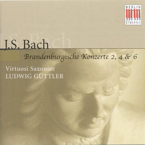 Johann Sebastian Bach: Brandenburg Concertos Nos. 2, 4, 6 (Virtuosi Saxoniae, Ludwig Güttler) by Virtuosi Saxoniae