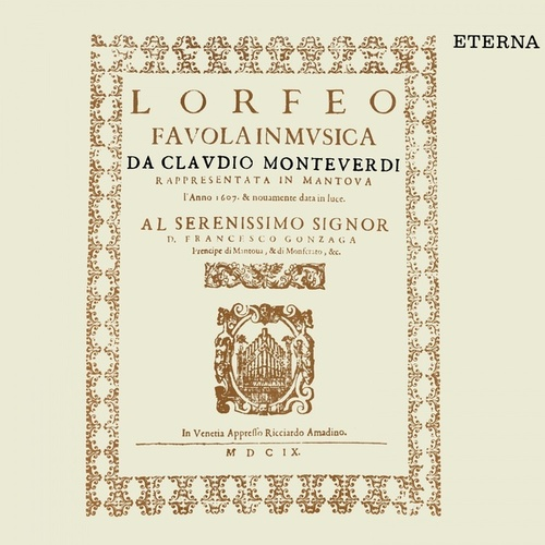Play & Download Monteverdi: Orfeo [Opera] by Various Artists | Napster