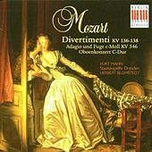Play & Download Mozart: Divertimenti, K. 136-138, Oboe Concerto in C Major & Adagio and Fugue in C Minor KV 546 by Various Artists | Napster