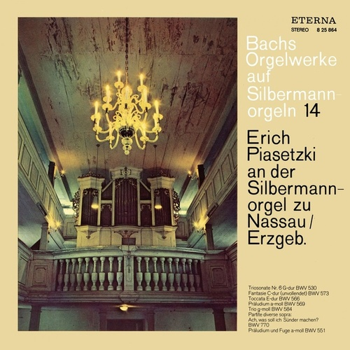 Play & Download BACH, J.S.: Organ Music on Silbermann Organs, Vol. 9 - BWV 530, 551, 566, 569, 573, 584, 770 (Piasetzki) by Erich Piasetzki | Napster