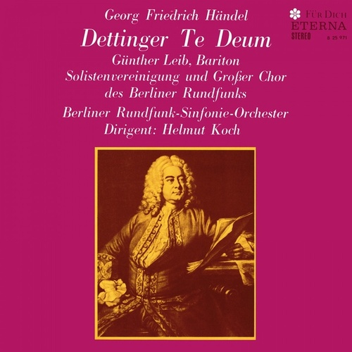 Georg Friedrich Händel: Te Deum (Sung in German) (Koch) by Various Artists
