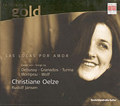Play & Download Vocal Recital: Oelze / Debussy / Granados / Wolf / Mompou / Turina by Christiane Oelze Rudolf Jansen | Napster