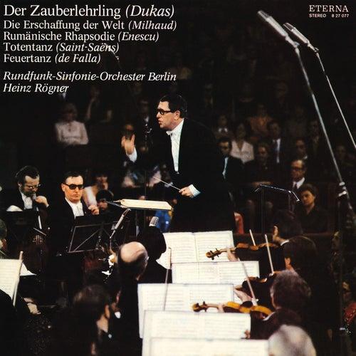 Play & Download Dukas: The Sorcerer's Apprentice / Milhaud: La creation du monde / Saint-Saëns: Danse macabre by Berlin Radio Symphony Orchestra | Napster