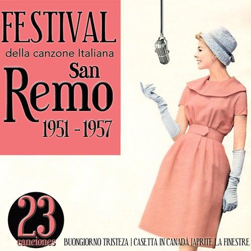 Festival della canzone italiana. San Remo 1951 - 1957 by Various Artists
