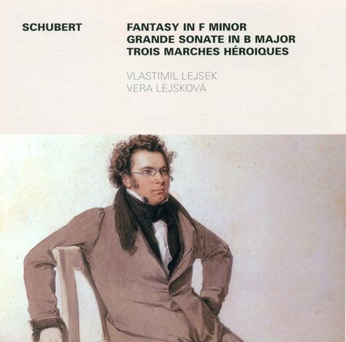 Play & Download SCHUBERT, F.: Sonata for Piano 4 Hands, Op. 30 / 3 Marches heroiques / Fantasie, Op. 103 (Lejsek, Lejskova) by Vlastimil Lejsek Vera Lejskova | Napster