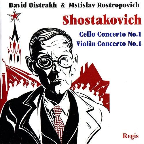 Shostakovich: Cello Concerto No. 1 & Violin Concerto No. 1 by Various Artists