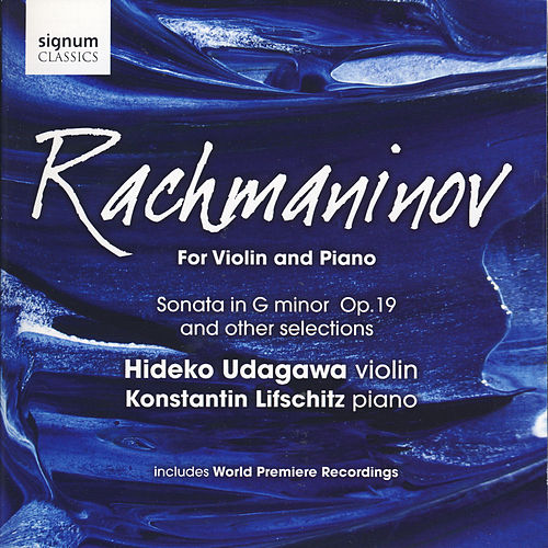 Rachmaninov for Violin and Piano by Hideko Udagawa