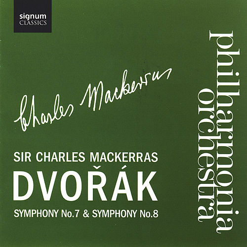 Play & Download Dvorak Symphone No. 7 & Symphony No. 8 by Philharmonia Orchestra | Napster