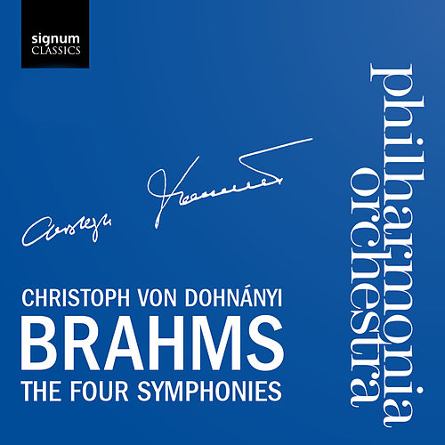 Johannes Brahms: The Four Symphonies by Philharmonia Orchestra