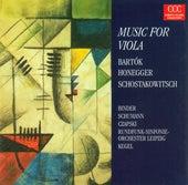 Play & Download Béla Bartók: Viola Concerto, BB 128 / Arthur Honegger: Viola Sonata / Dmitri Schostakowitsch: Viola Sonata, Op. 147 (Davia Binder, Robert Schumann) by Various Artists | Napster