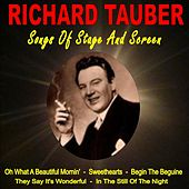 Songs of Stage and Screen by Richard Tauber
