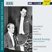 Play & Download Souzay: Liederabend 1960 by Gerard Souzay | Napster