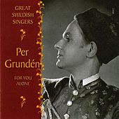 Grunden, Per: For You Alone (1951-1962) by Per Grunden
