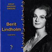 Great Swedish Singers: Berit Lindholm (1965-1979) by Berit Lindholm
