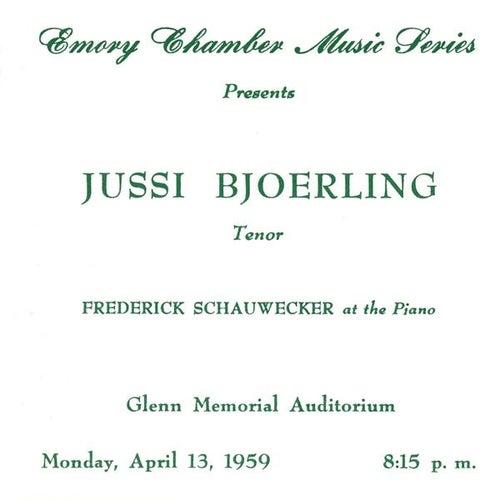 Bjorling, Jussin: The Atlanta Recital (1959) by Jussi Bjorling