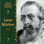 Great Swedish Singers: Leon Bjorker (1934-1959) by Leon Bjorker