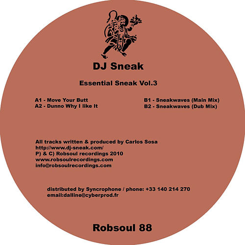 Essential Sneak Vol.3 by DJ Sneak