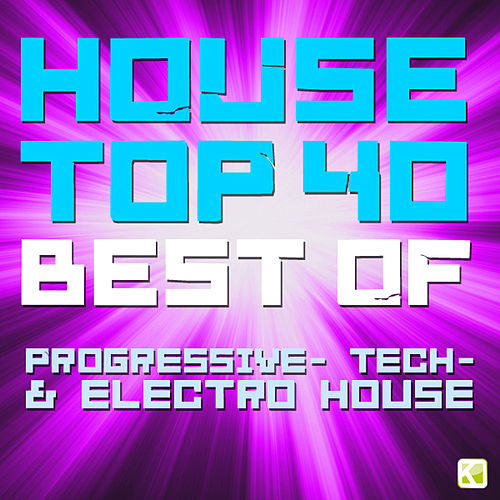 House Top 40 (Best of Progressive Tech- & Electro House) by Various Artists
