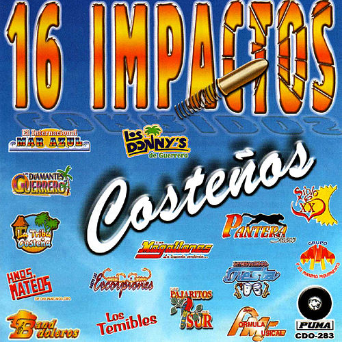 Play & Download 16 Impactos Costenos by Various Artists | Napster