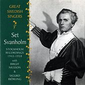 Play & Download Great Swedish Singers: Set Svanholm (1943-1958) by Set Svanholm | Napster